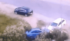 venganza de carros estilo GTA San Andreas